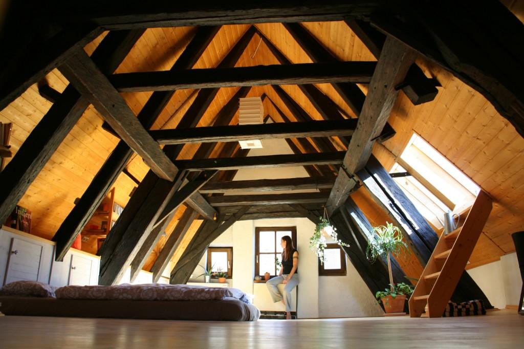 Крыша под второй этаж